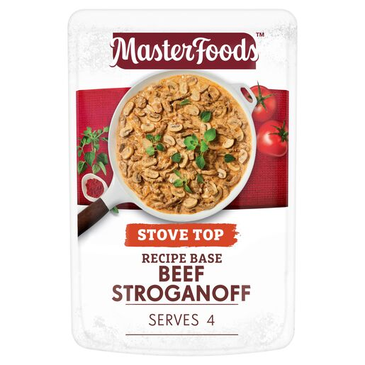 Beef Stroganoff Recipe Base Stove Top Pouch 175g
