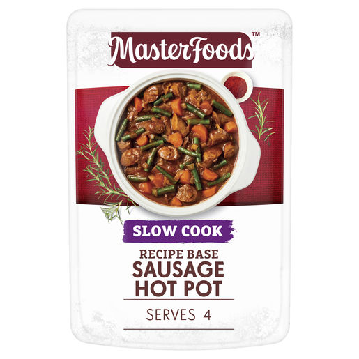 Sausage Hot Pot Recipe Base Slow Cook Pouch 175g