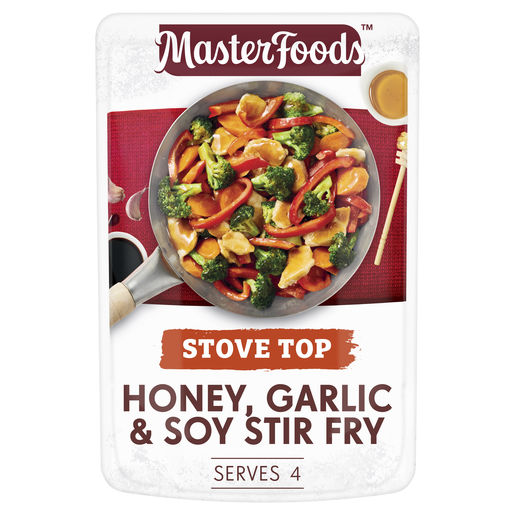 Honey, Garlic & Soy Stir Fry Recipe Base 175g