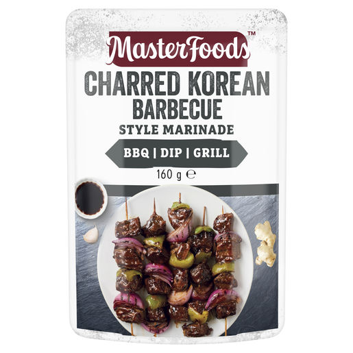 Charred Korean Barbecue Style Marinade 160 g