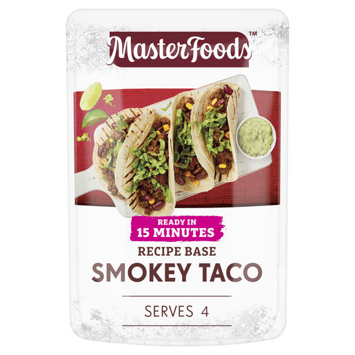 Ready in 15 Minutes Smokey Taco Recipe Base 175 g