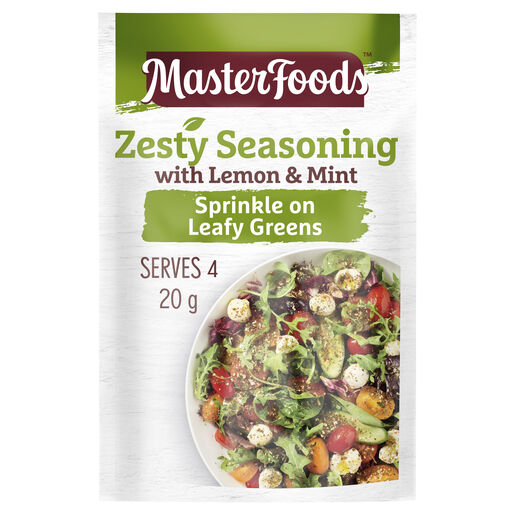 Zesty Seasoning with Lemon & Mint 20g