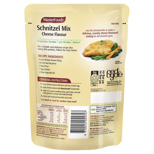 Schnitzel Mix Cheese 80g