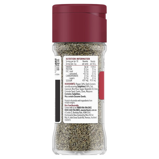 Garlic Pepper Seasoning 50g
