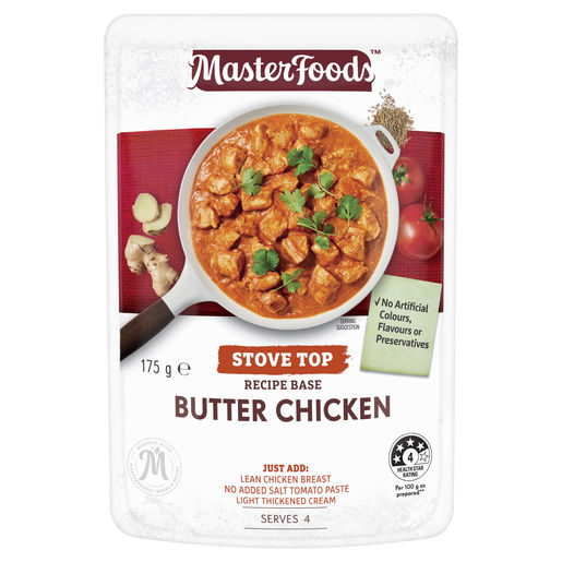 Butter Chicken Recipe Base Stove Top Pouch 175 g
