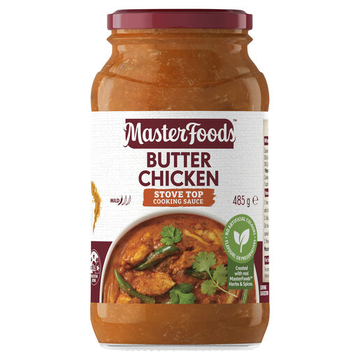 Butter Chicken Curry Cooking Sauce 485g