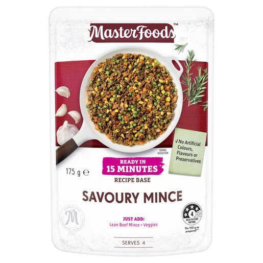 Savoury Mince Ready in 15 Minutes Recipe Base 175g