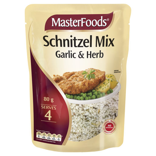 Garlic & Herb Schnitzel Mix 80g
