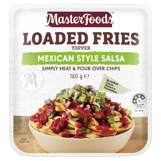 Loaded Fries Mexican Style Salsa Topper 160 g