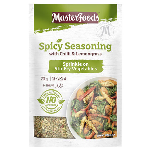 Spicy Seasoning with Chilli & Lemongrass 20g