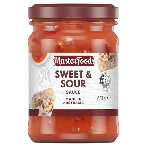 Try Our Delicious Sweet And Sour Sauce Masterfoods