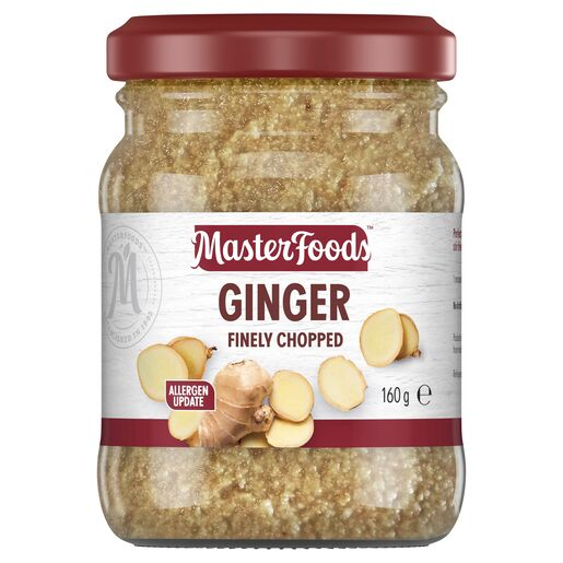 Finely Chopped Ginger 160g