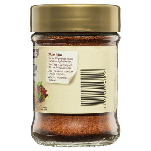 Fajita Seasoning 108g