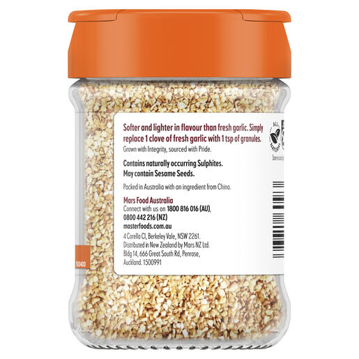 Herbs & Spices Garlic Granulated 155 g